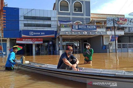 Banjir sudah sepekan melanda wilayah Barito Utara