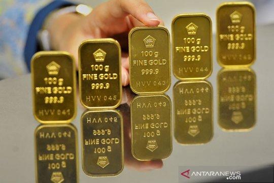 Harga emas naik, investor cari aset aman di saat ketegangan AS-China