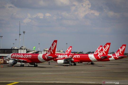 AirAsia hentikan sementara penerbangan berjadwal hingga 6 Agustus