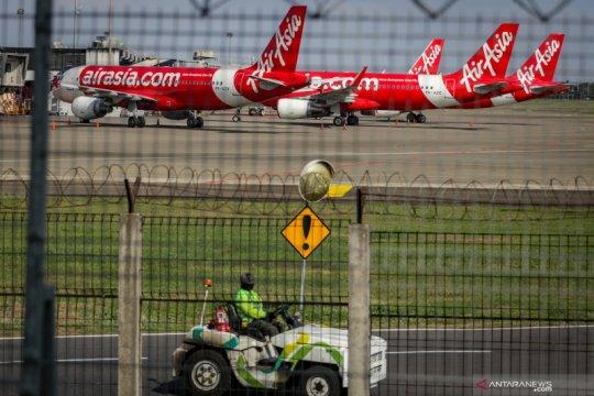 Akibat pandemi, 102 pesawat menganggur di Bandara Soekarno-Hatta