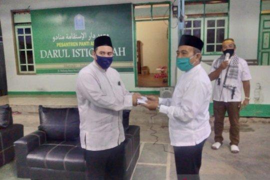 Ponpes-panti asuhan di Manado dapat bantuan infaq Baznas Sulut
