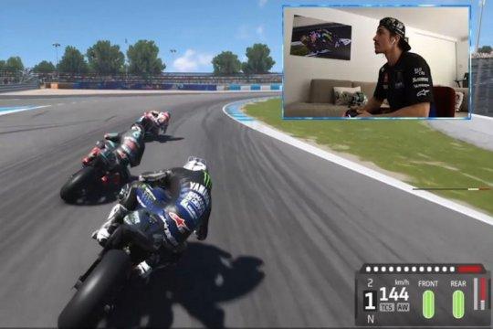Saran jawara eSport bantu Vinales juarai grand prix virtual MotoGP