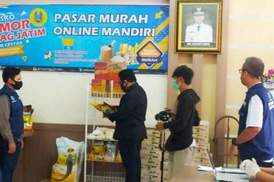 Jamin kebutuhan pokok, Pemprov Jatim siapkan pasar murah daring