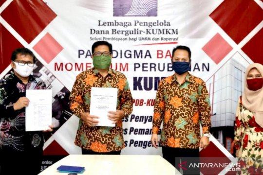 LPDB-KUMKM perkuat modal lima koperasi syariah di Jateng