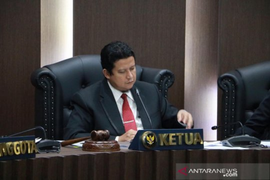 DKPP memberlakukan sidang pemeriksaan secara virtual
