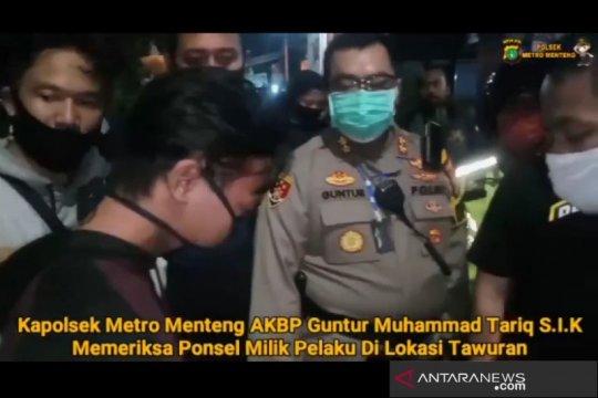 Polsek Menteng tangkap otak utama di video viral tawuran Manggarai