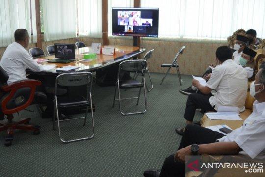 Kota Palu bahas upaya rehab-rekon pascabencana lewat virtual