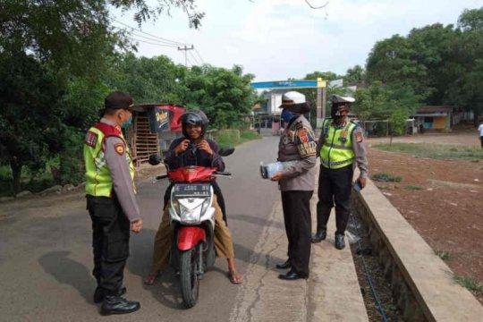 Polres: masih banyak masyarakat Cirebon tidak taat aturan PSBB Jabar