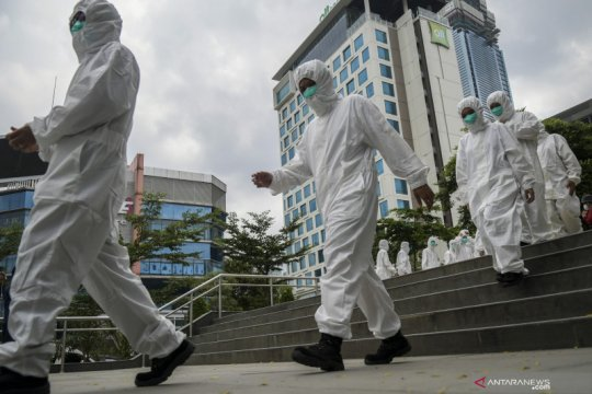 Lonjakan kasus positif COVID-19 di Jakarta capai rekor baru lagi