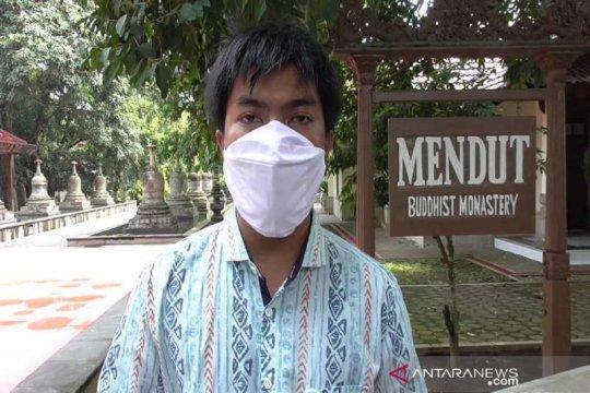 Umat Buddha tak rayakan Waisak di Mendut-Borobudur cegah COVID-19