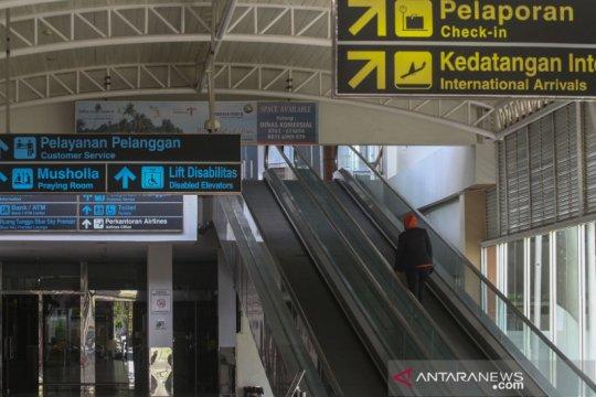H-2 Lebaran jumlah penumpang di Bandara Pekanbaru cenderung landai