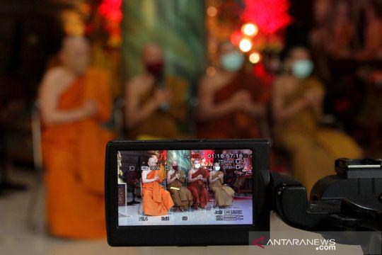 Upacara Trisuci Waisak 2020 di Makassar