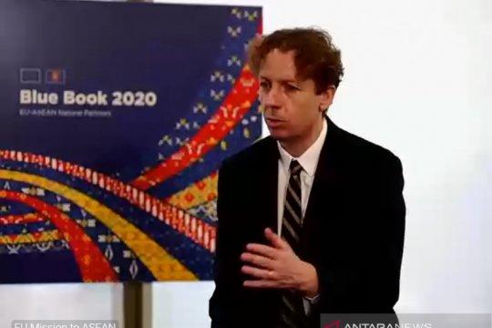 """Lewat siaran virtual, Misi EU untuk ASEAN luncurkan """"Blue Book 2020"""""""