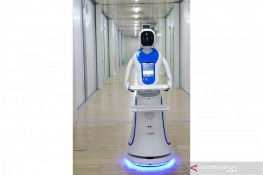 RS Pertamina Jaya gunakan dua robot bantu tangani COVID-19