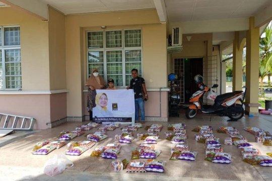 PKS Malaysia bantu sembako dan masker ke pekerja migran Indonesia