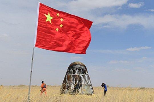 Pesawat ruang angkasa China berhasil kembali ke bumi