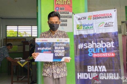 Global Zakat-ACT bantu guru honorer dan ustad terdampak pandemi corona