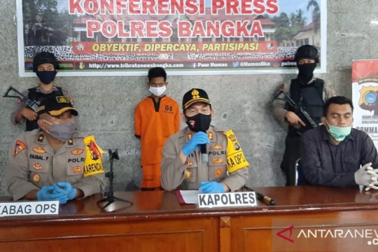 Polres Bangka tangkap pelaku pembunuhan incar uang korban
