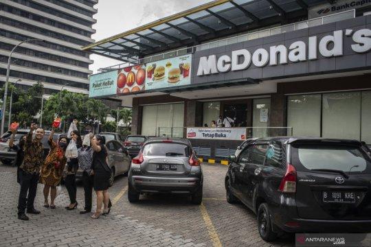 Belajar kejadian McDonald's, Satpol PP DKI imbau warga sadari PSBB