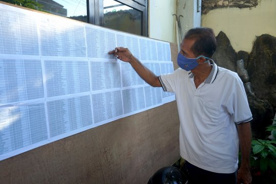 Sejumlah warga Surabaya yang meninggal masuk daftar penerima bansos