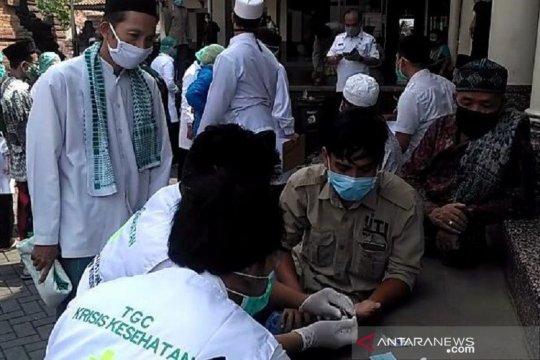 Hasil rapid test corona di Pasar Kliwon Kudus enam orang reaktif