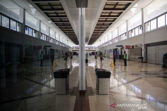 Bandara Juanda masih lengang