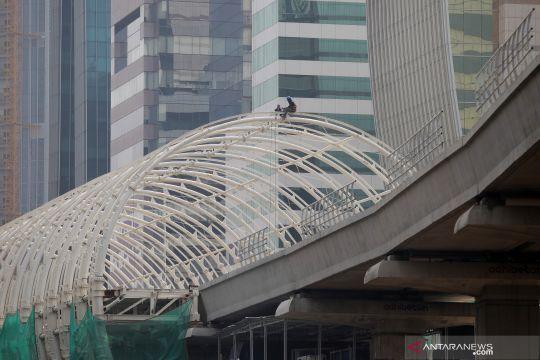 Pembangunan LRT Jabodebek tetap berjalan