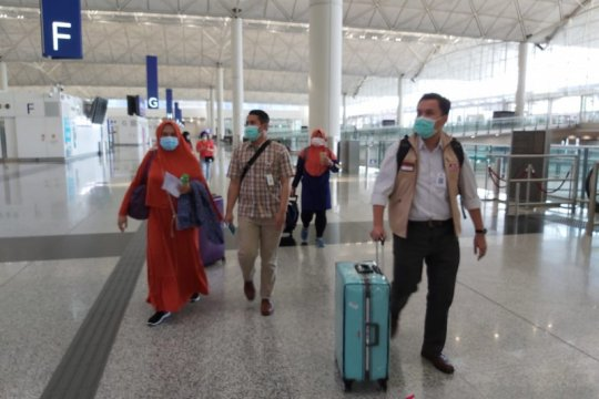 Pekerja migran asal Subang pulang setelah  hilang