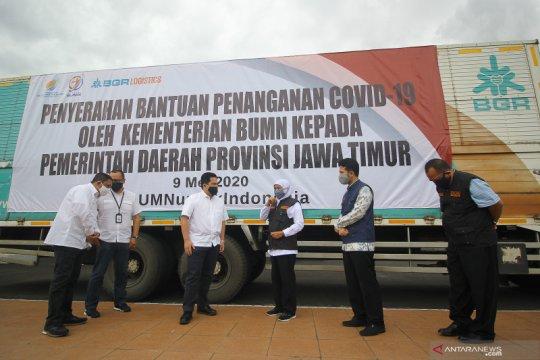 Kementerian BUMN serahkan bantuan alat kesehatan
