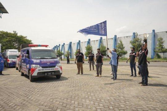 Ibas donasi ribuan sembako untuk terdampak COVID-19 di Dapil VII