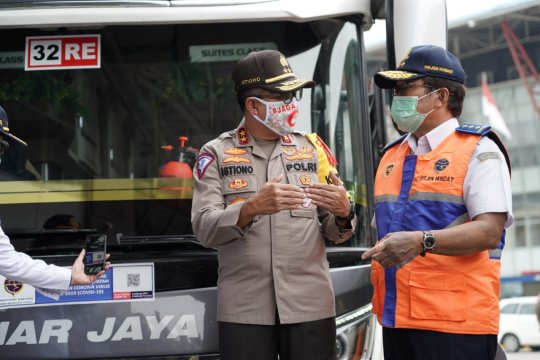 Bus umum dapat beroperasi jika ditunjuk Kemenhub