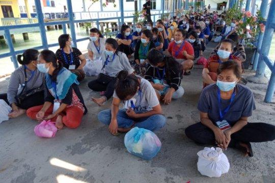 284 PMI ilegal dideportasi dari Malaysia melalui Tanjungpinang