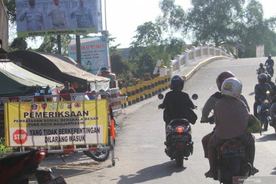 PSBB di Kota Banjarmasin belum mampu redam lonjakan COVID-19