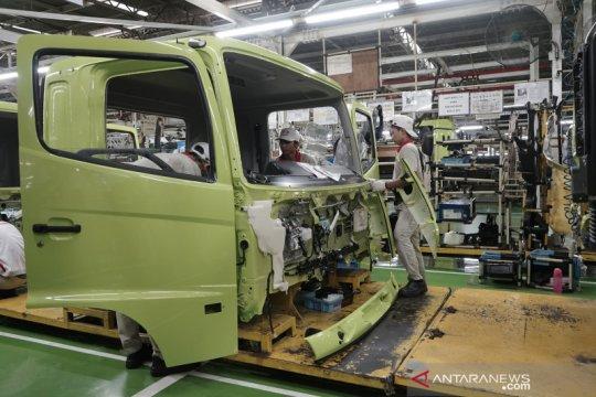 Pabrik Hino Indonesia hentikan sementara produksi