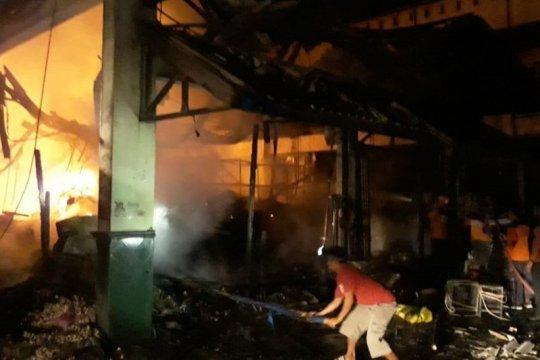 Pasar Juwana Pati mengalami kebakaran