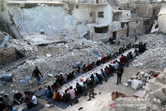 Ifthar untuk warga Suriah