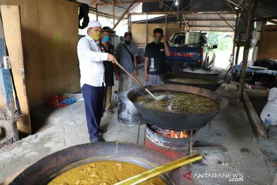 Bupati siapkan menu kuah Beulangong untuk pengungsi Garot