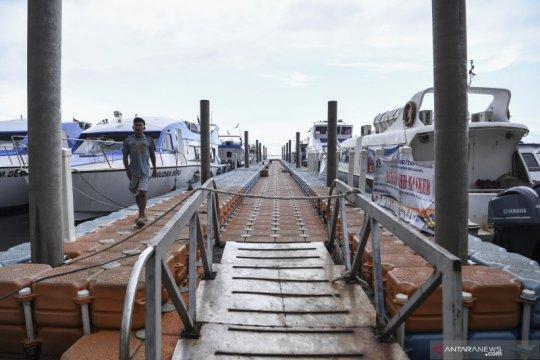 Pengelola Pelabuhan Kaliadem tutup akses ke Kepulauan Seribu
