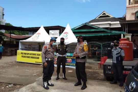 Kapolrestabes perintahkan anggota periksa kendaraan ke Kota Makassar