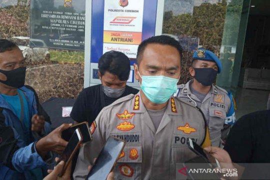 Hari kelima PSBB Polresta Cirebon perketat penjagaan di check point