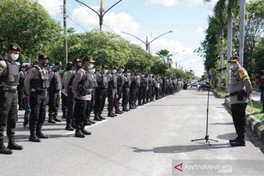 1.100 personel kawal pelaksanaan PSBB di Palangka Raya