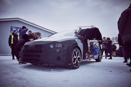 Prototipe Hyundai i20 N baru terungkap dalam uji cuaca ekstrem