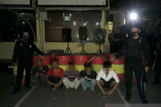 Polres Jakarta Barat tangkap lima pelaku tawuran bersenjata tajam
