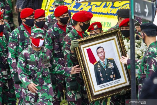 Kemarin, Ketua MPR hingga Menhan berduka meninggalnya Djoko Santoso