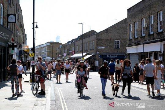 Warga Inggris diminta bersepeda ke kantor saat penguncian dilonggarkan