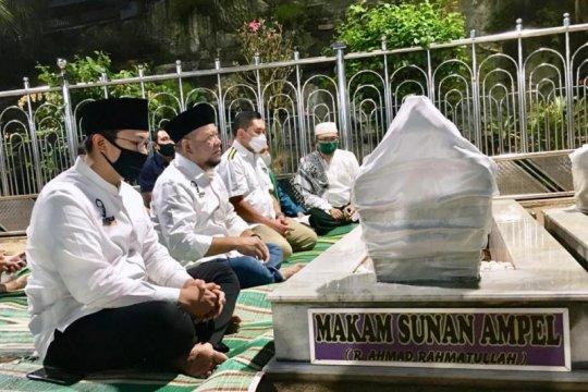 Ketua DPD RI ajak Kapolda Jatim baru ziarah ke Ampel