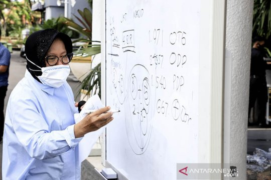 Wali Kota Risma sebut ada 16 klaster penularan COVID-19 di Surabaya