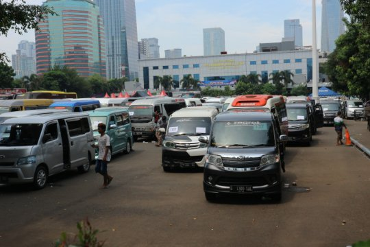 18 hari Operasi Ketupat Polri halau 40.856 kendaraan pemudik