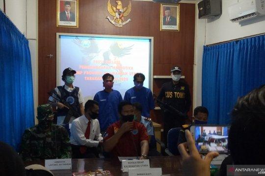 BNNP Kaltara menangkap 2.000 gram sabu di Tarakan
