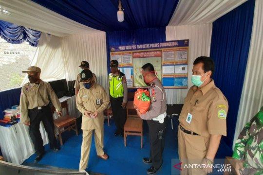 Pemkab Gunung Kidul: Posko penyekatan turunkan jumlah pemudik